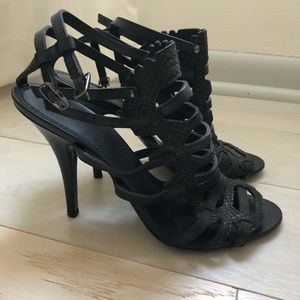 Black Givenchy Strappy Heels